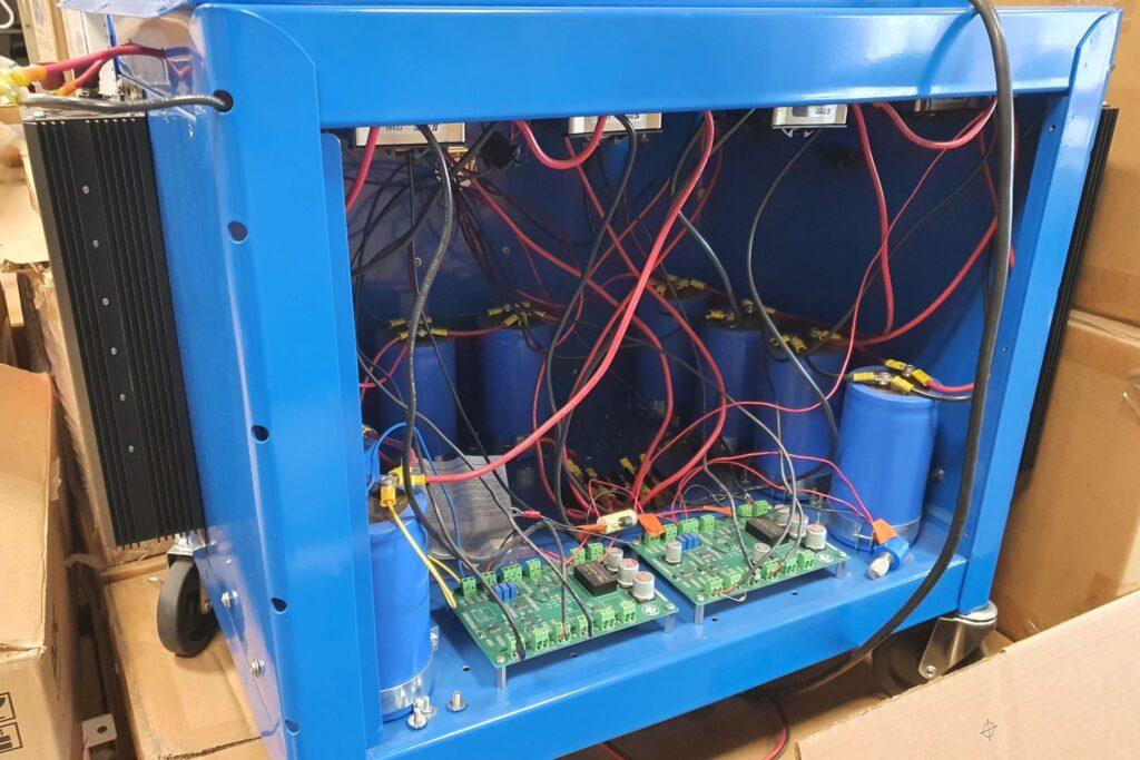 Battery storage performance test