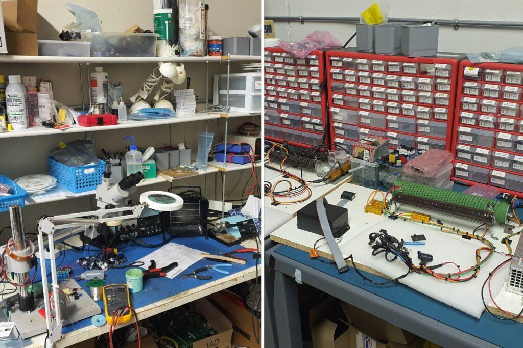 Arshon Technology Backroom