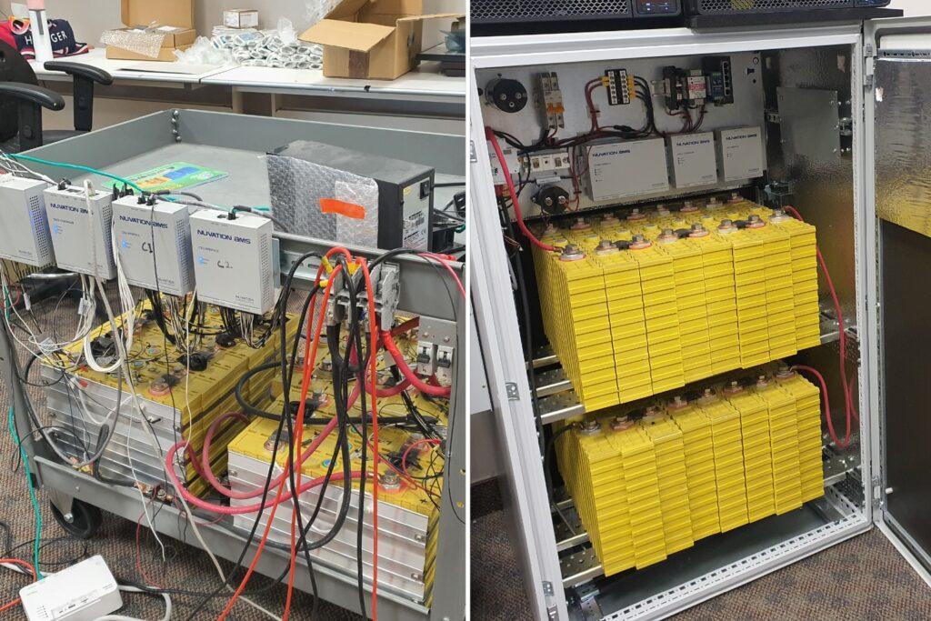 Battery storage performance testing