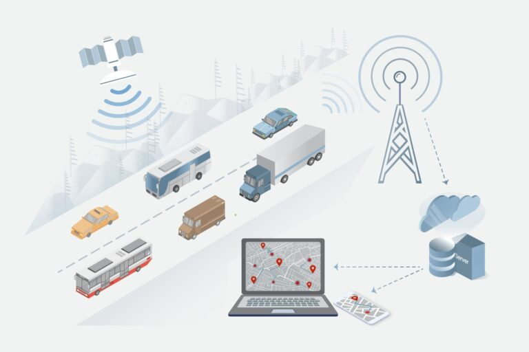 LTE Online Wireless Tracking System